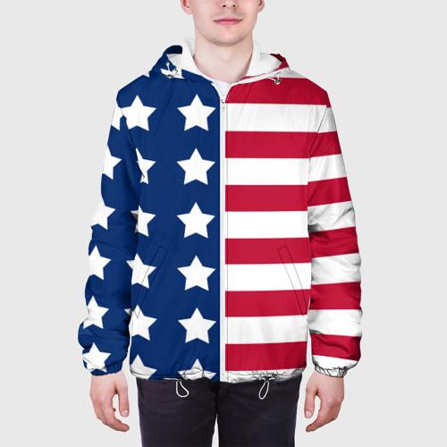 Мужская куртка 3D  Фото 04, USA Flag