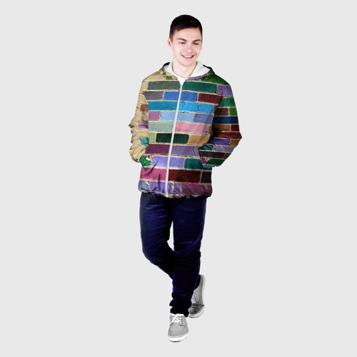 Мужская куртка 3D  Фото 03, Кирпичи