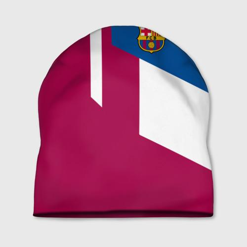 Шапка 3D  Фото 01, FC Barcelona 2018