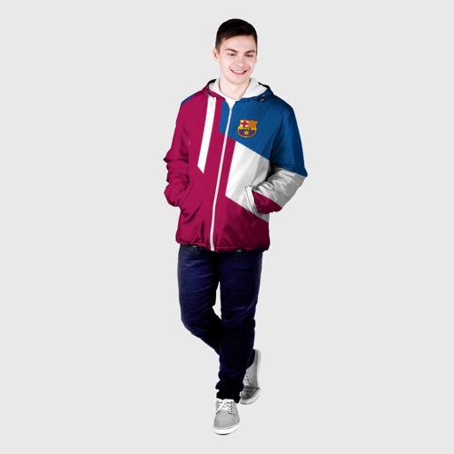 Мужская куртка 3D  Фото 03, FC Barcelona 2018