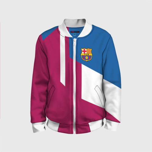 Детский бомбер 3D FC Barcelona 2018