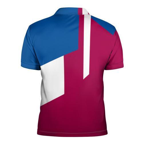 Мужская рубашка поло 3D  Фото 02, FC Barcelona 2018