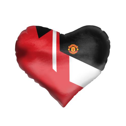 Подушка 3D сердце  Фото 01, Manchester United 2018 New