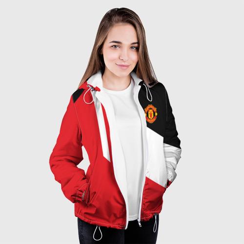 Женская куртка 3D  Фото 04, Manchester United 2018 New
