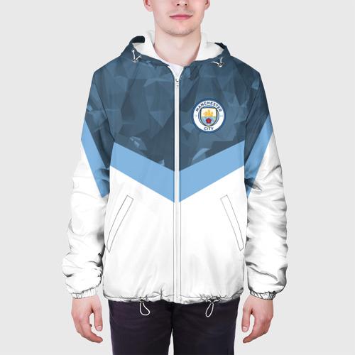 Мужская куртка 3D  Фото 04, Manchester city 2018 Sport