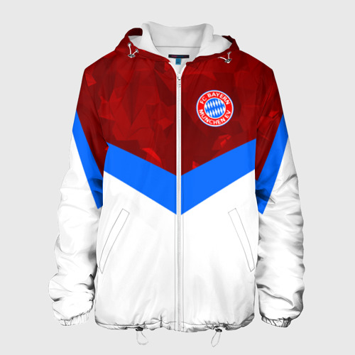 Мужская куртка 3D  Фото 01, ФК Бавария 2018