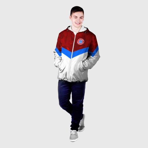 Мужская куртка 3D  Фото 03, ФК Бавария 2018