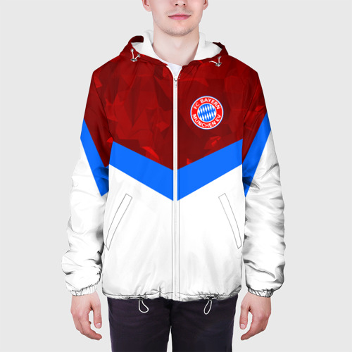 Мужская куртка 3D  Фото 04, ФК Бавария 2018