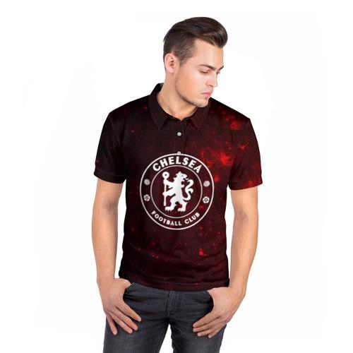 Мужская рубашка поло 3D  Фото 05, Челси