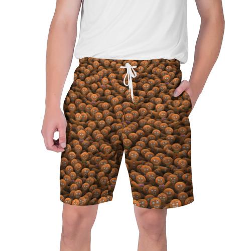 Мужские шорты 3D  Фото 01, Имбирные пряники