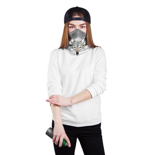 Бандана-труба 3D  Фото 02, Wolf
