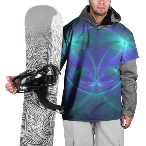 Накидка на куртку 3D  Фото 01, Fractal world