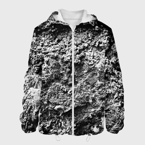 Мужская куртка 3D  Фото 01, Серая текстура