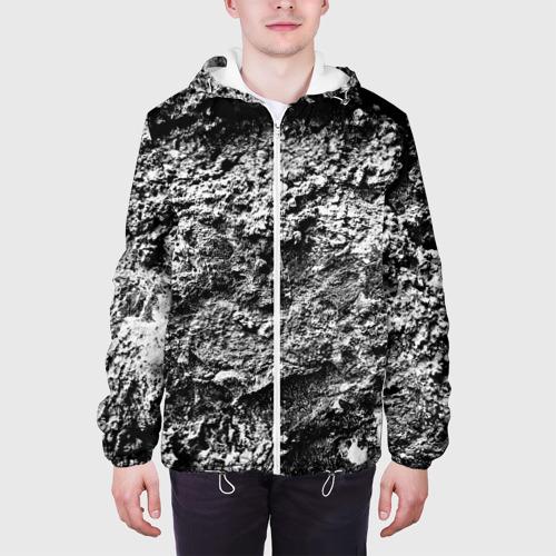 Мужская куртка 3D  Фото 04, Серая текстура
