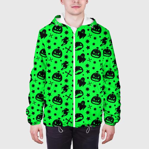 Мужская куртка 3D  Фото 04, Хэллоуин кислота
