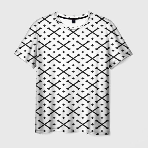 Мужская футболка 3D Кости