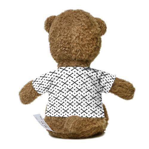 Миша в футболке 3D Кости Фото 01