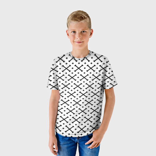 Детская футболка 3D Кости