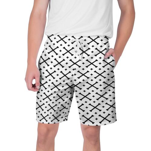 Мужские шорты 3D  Фото 01, Кости