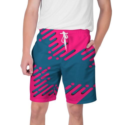 Мужские шорты 3D  Фото 01, Геометрия будущего