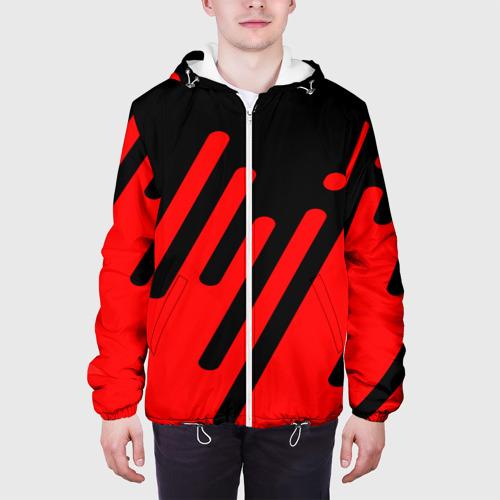 Мужская куртка 3D  Фото 04, Геометрия в движении!