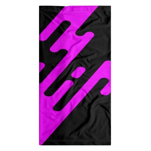 Бандана-труба 3D  Фото 07, Pink geometry