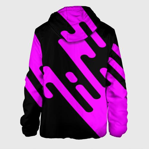 Мужская куртка 3D  Фото 02, Pink geometry