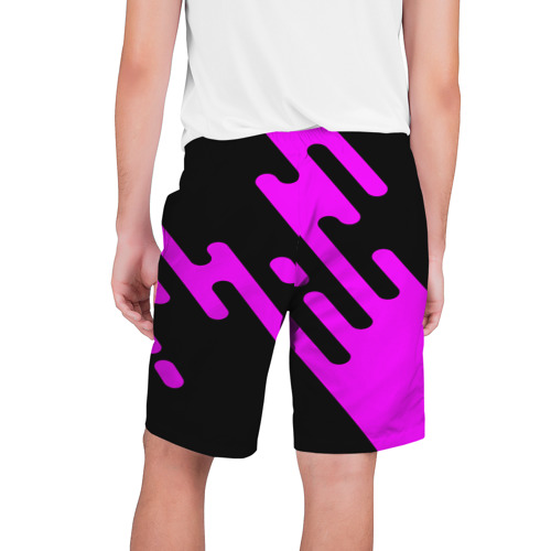 Мужские шорты 3D  Фото 02, Pink geometry