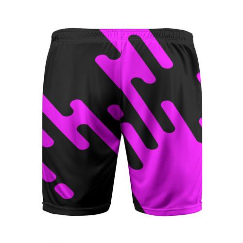 Мужские шорты 3D спортивные  Фото 02, Pink geometry