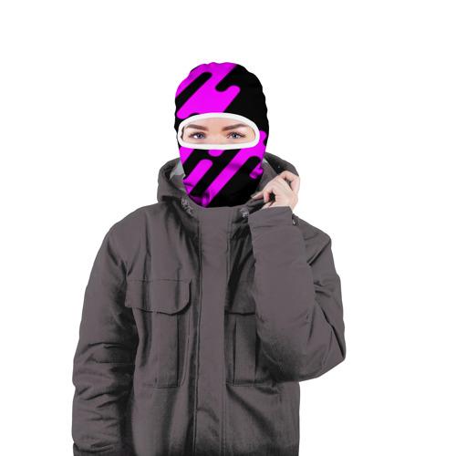 Балаклава 3D  Фото 04, Pink geometry