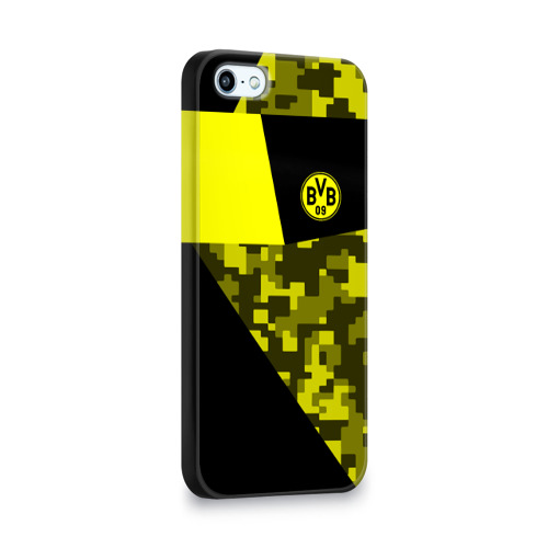 Чехол для Apple iPhone 5/5S 3D  Фото 02, Borussia Dortmund 2018 Sport