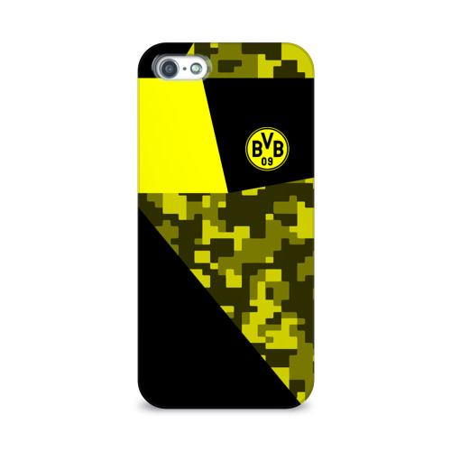 Чехол для Apple iPhone 5/5S 3D  Фото 01, Borussia Dortmund 2018 Sport