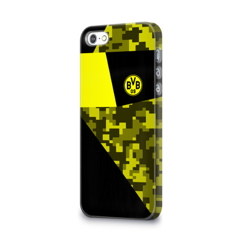 Чехол для Apple iPhone 5/5S 3D  Фото 03, Borussia Dortmund 2018 Sport