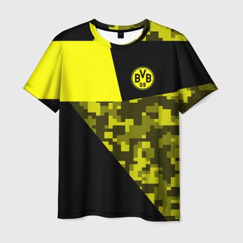 Мужская футболка 3D  Фото 01, Borussia Dortmund 2018 Sport