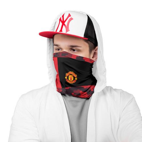 Бандана-труба 3D  Фото 03, Manchester United 2018 Sport