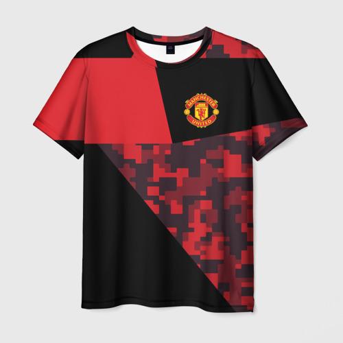 Мужская футболка 3D  Фото 03, Manchester United 2018 Sport