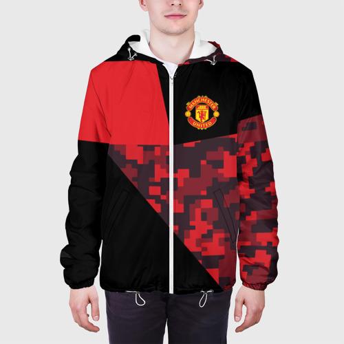 Мужская куртка 3D  Фото 04, Manchester United 2018 Sport