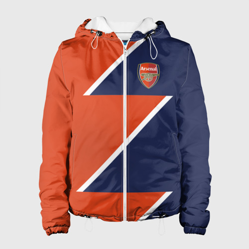Женская куртка 3D  Фото 01, FC Arsenal 2018 Storm