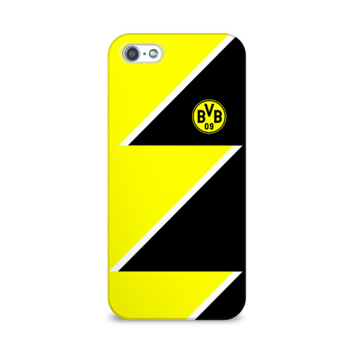 Чехол для Apple iPhone 5/5S 3D  Фото 01, Borussia Dortmund 2018 Storm