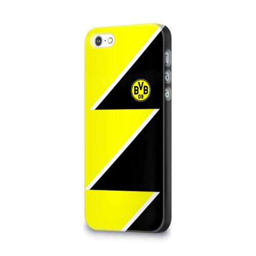 Чехол для Apple iPhone 5/5S 3D  Фото 03, Borussia Dortmund 2018 Storm