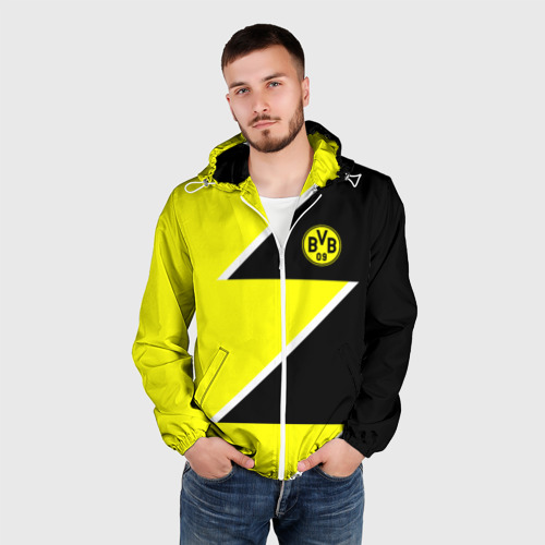 Мужская ветровка 3D  Фото 03, Borussia Dortmund 2018 Storm