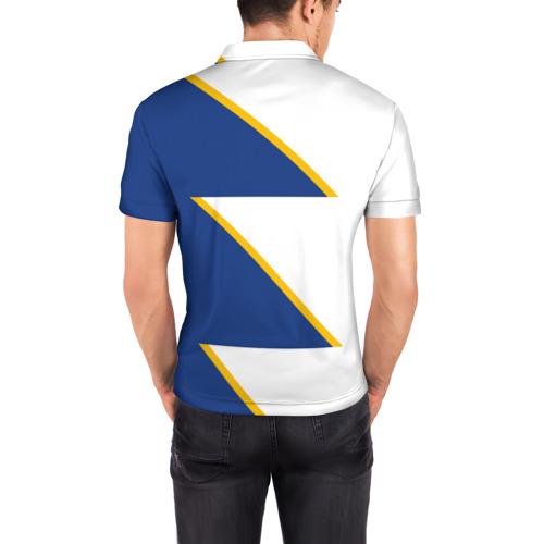 Мужская рубашка поло 3D  Фото 04, Real Madrid 2018 Storm