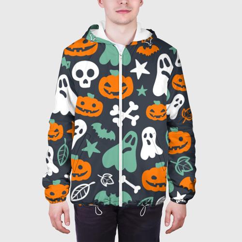 Мужская куртка 3D  Фото 04, Halloween
