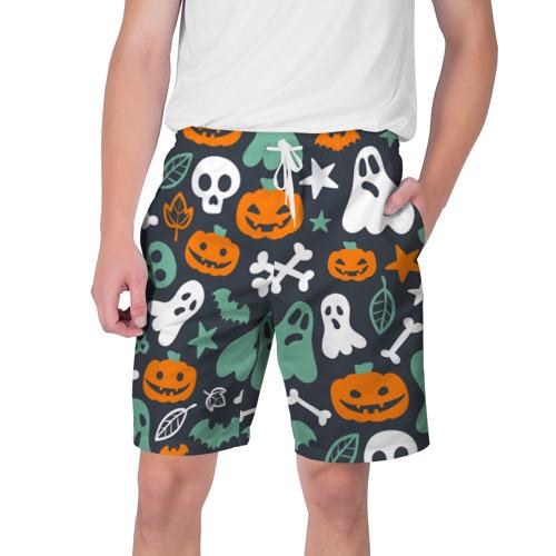 Мужские шорты 3D  Фото 01, Halloween