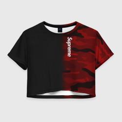 Supreme Military Black Red