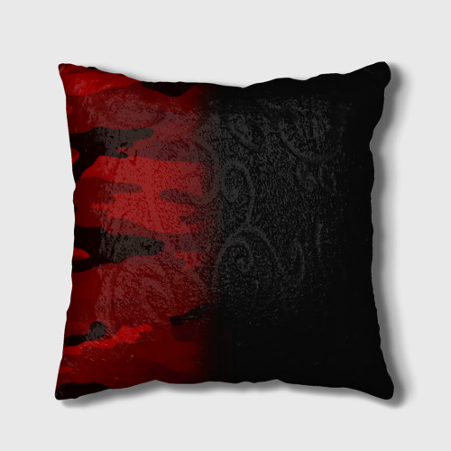 Подушка 3D  Фото 02, Supreme Military Black Red