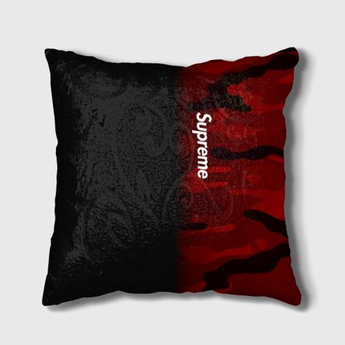 Подушка 3D  Фото 01, Supreme Military Black Red