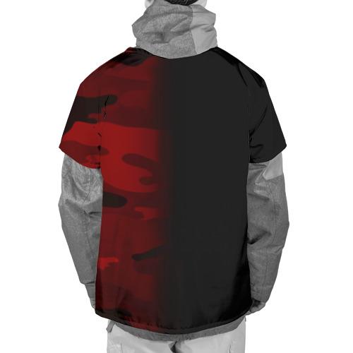 Накидка на куртку 3D  Фото 02, Supreme Military Black Red