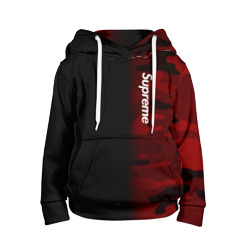 Supreme Military Black Red  - интернет магазин Futbolkaa.ru