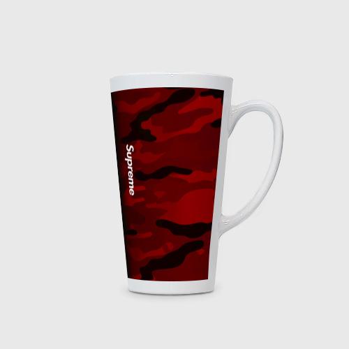Кружка Латте Supreme Military Black Red  Фото 01